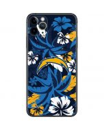 Los Angeles Chargers Tropical Print iPhone 11 Pro Max Skin