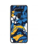 Los Angeles Chargers Tropical Print LG K51/Q51 Clear Case