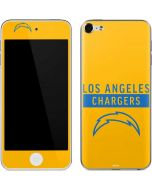 Los Angeles Chargers Yellow Performance Series Apple iPod Skin