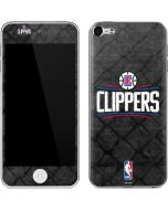 Los Angeles Clippers Black Rust Apple iPod Skin