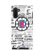 Los Angeles Clippers Blast Logos Galaxy Note 10 Pro Case