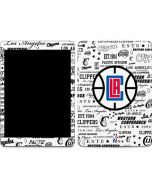 Los Angeles Clippers Blast Logos Apple iPad Skin