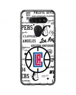 Los Angeles Clippers Blast Logos LG K51/Q51 Clear Case