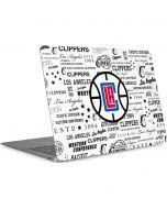Los Angeles Clippers Blast Logos Apple MacBook Air Skin