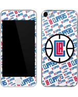 Los Angeles Clippers Blast Text Apple iPod Skin