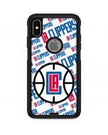 Los Angeles Clippers Blast Text Otterbox Commuter iPhone Skin