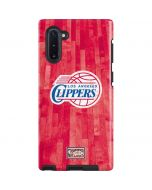 Los Angeles Clippers Hardwood Classics Galaxy Note 10 Pro Case