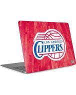 Los Angeles Clippers Hardwood Classics Apple MacBook Air Skin