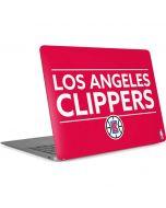 Los Angeles Clippers Standard - Red Apple MacBook Air Skin