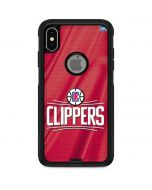 Los Angeles Clippers Team Jersey Otterbox Commuter iPhone Skin