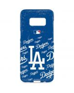 Los Angeles Dodgers - Cap Logo Blast Galaxy S8 Plus Lite Case