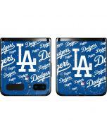 Los Angeles Dodgers - Cap Logo Blast Galaxy Z Flip Skin