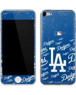 Los Angeles Dodgers - Cap Logo Blast Apple iPod Skin