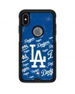 Los Angeles Dodgers - Cap Logo Blast Otterbox Commuter iPhone Skin