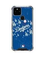 Los Angeles Dodgers - Primary Logo Blast Google Pixel 5 Clear Case