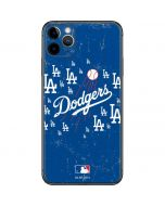 Los Angeles Dodgers - Primary Logo Blast iPhone 11 Pro Max Skin