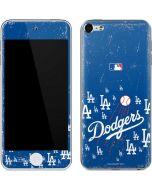 Los Angeles Dodgers - Primary Logo Blast Apple iPod Skin