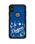 Los Angeles Dodgers - Primary Logo Blast Otterbox Commuter iPhone Skin