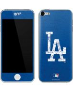 Los Angeles Dodgers - Solid Distressed Apple iPod Skin