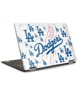 Los Angeles Dodgers - White Primary Logo Blast Dell XPS Skin