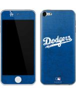 Los Angeles Dodgers- Alternate Solid Distressed Apple iPod Skin