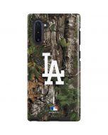 Los Angeles Dodgers Realtree Xtra Green Camo Galaxy Note 10 Pro Case