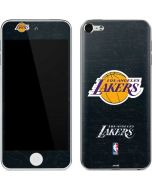 Los Angeles Lakers Black Primary Logo Apple iPod Skin