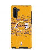 Los Angeles Lakers Blast Galaxy Note 10 Pro Case