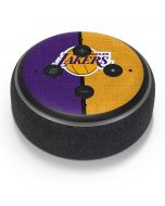 Los Angeles Lakers Canvas Amazon Echo Dot Skin