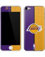 Los Angeles Lakers Canvas Apple iPod Skin