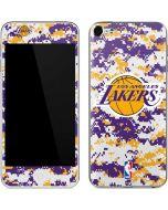 Los Angeles Lakers Digi Camo Apple iPod Skin