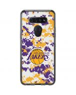 Los Angeles Lakers Digi Camo LG K51/Q51 Clear Case