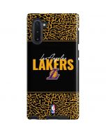 Los Angeles Lakers Elephant Print Galaxy Note 10 Pro Case