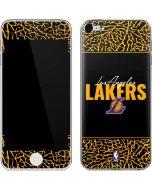 Los Angeles Lakers Elephant Print Apple iPod Skin