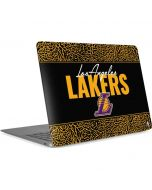 Los Angeles Lakers Elephant Print Apple MacBook Air Skin
