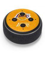 Los Angeles Lakers Gold Primary Logo Amazon Echo Dot Skin