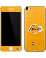 Los Angeles Lakers Gold Primary Logo Apple iPod Skin