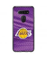 Los Angeles Lakers Home Jersey LG K51/Q51 Clear Case