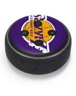 Los Angeles Lakers Large Logo Amazon Echo Dot Skin