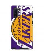 Los Angeles Lakers Large Logo Galaxy Note 10 Pro Case