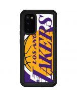 Los Angeles Lakers Large Logo Galaxy S20 Waterproof Case