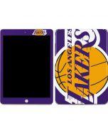 Los Angeles Lakers Large Logo Apple iPad Skin