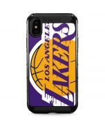 Los Angeles Lakers Large Logo iPhone XS Max Cargo Case