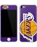 Los Angeles Lakers Large Logo Apple iPod Skin