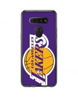 Los Angeles Lakers Large Logo LG K51/Q51 Clear Case