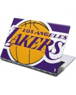 Los Angeles Lakers Large Logo Yoga 910 2-in-1 14in Touch-Screen Skin