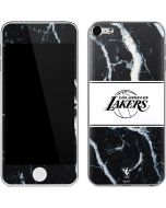 Los Angeles Lakers Marble Apple iPod Skin