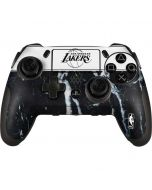 Los Angeles Lakers Marble PlayStation Scuf Vantage 2 Controller Skin
