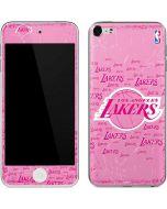 Los Angeles Lakers Pink Blast Apple iPod Skin