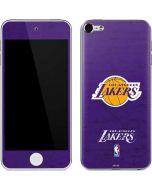Los Angeles Lakers Purple Primary Logo Apple iPod Skin